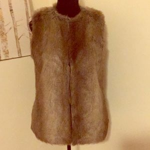 Zara fur vest